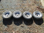 C3 Corvette Factory Aluminum Wheels