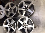 "Ford Rims, 17"", 5 lug nut pattern, set of 4"
