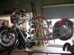 2015 Harley Davidson Pro Mod Custom Racing Frame