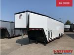 2021 inTech 38' Aluminum Gooseneck Race Trailer - Wide Body