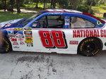 Dale Earnhardt Jr Show Car