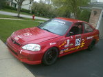 2000 Honda Civic Si, Classed as STL (Super Touring Lite)