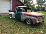 1964 F100 Custom Cab Tubbed Step Side Pick Up Truck
