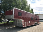 Haulmark Edge 42' Race Trailer with  Full Living Quaters