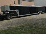 48' TOMMY Trailer 5th wheel All aluminum