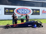 Champion Outlaw Jr Dragster Operation (2 cars & 4 motors
