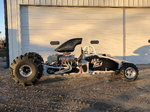 """150"""" rear engine mud rail"""