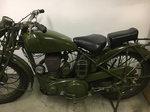 1944 BSA M20 Military  bike