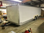 1989 Aerolite enclosed trailer