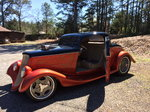 34 ROADSTER SHOP BUILT 3 WINDOW COUPE