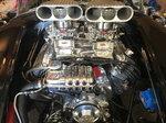 427 FE FORD ALL ALUMINUM ENGINE & TRANSMISSION