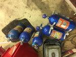Nitrous refill station +4 bottles+dual billet