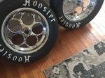 Magnum wheels and  Hoosier Tires