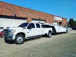 Featherlite 2 car aluminum wedge trailer