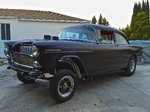 1955 chevy 210 gasser straight axle nostalgia hot rod (not a