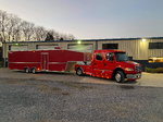 Freightliner M2 Sport Chassis with 36' Wildside Traile