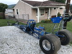 """235"""" rolling chassis dragster"""