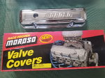 Moroso Chrome plated Steel Pontiac Tall Valve Covers