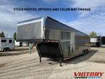 2021 inTech 44' Aluminum Gooseneck Race Trailer - Wide Body