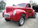 1941 Willys Gasser Drag Racing Car