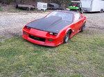 Stock Suspension Camaro
