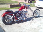 rare JOHN HARMEN 1951 panhead show bike