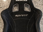 Sparco Sprint V Racing Seat Black Size USED