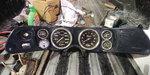 Carbon Fiber gauges and cluster from 71 Camaro