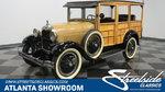 1929 Ford Model A Woody Wagon