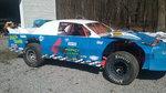 Rolling chassis street stock car