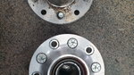 Ford Pinto aluminum hubs pro street drag racing light weight