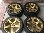 Forgestar 18x11 Mustang  for sale $1,000