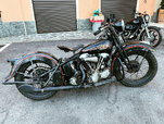1938 HARLEY-DAVIDSON  EL 'KNUCKLEHEAD'  for sale $27,900