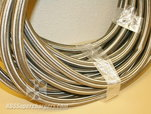 Used -12 Braided Stainless Steel CPE Hose 90ft.  for sale $595