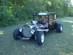 1926 Ford Model T Coupe Hot Rod/WILL TRADE FOR TRI FIVE'S