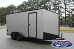 """2020 Bravo Scout 7x16 w/ 12"""" Extra Height and Ramp  for sale $7,350"""