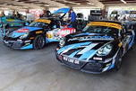 Pair of Porsche Cayman IMSA ST racecars  for sale $68,000