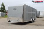 ATC 8.5'x20' Aluminum Car Hauler w/ Escape Door