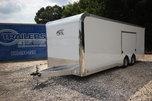 2021 ATC Quest CH405 24ft. Aluminum w/5,200lb. Axles Enclose for Sale $30,075