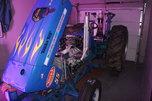 Classic Modified tractor and Aluma 18' trailer  for sale $15,000