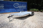 2019 ATC 20FT ALUMINUM OPEN CAR TRAILER