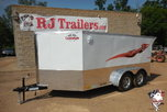 2021 Cargo Mate 7x12 Low Hauler Motorcycle Trailer  for sale $7,499