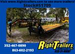 2021 8.5'x40' PJ Flatdeck Low Pro Gooseneck Trailer  for sale $15,499