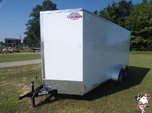 2021 Cargo Mate Cell Tech 7 x 16 Enclosed Cargo Trailer  for sale $12,899