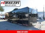 2020 Cargo Mate 34ft Aluminum Fram Blackout Car / Racing Tra  for sale $25,999