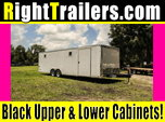 28ft Pace American Race Trailer w/ All Steel Frame