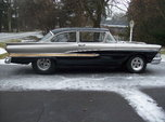 Nice Low Mile Fully Tubbed Pro-Street 1958 Ford Custom 300   for sale $21,000