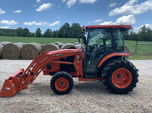 2015 Kubota L6060 Cab Tractor  for sale $17,000