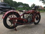 1928 Indian Scout 101  for sale $15,000