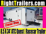 8.5x34 ATC Quest | Race Car Trailer
